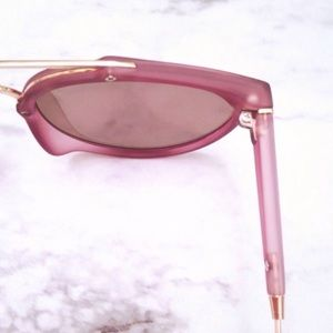 Accessories - Purple Mirrored Sunglasses